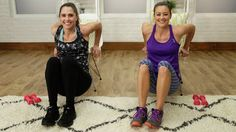The Lazy Girl's Arm Workout: You can keep your pj's on and stay on the couch for this workout!