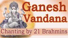 Ganesh Vandana | Vedic Chanting by 21 South Indian Brahmins