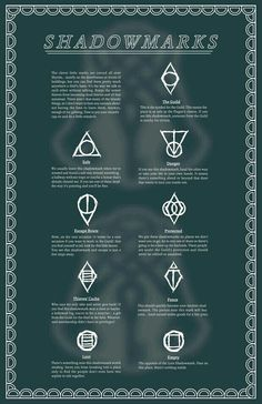 Reference for shadowmarks.