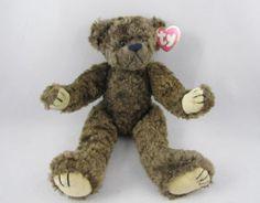 "Ty 1993 12"" Plush Animal Tyrone Teddy Bear Brown Toy Attic Treasures Collection | eBay"