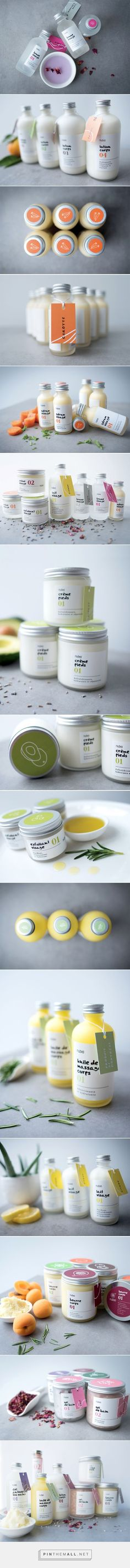 Nubia Spa Vert / Packaging for a new skin-care line line using natural, 100% bio ingredients by Alex Nereuta