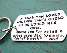 Step Dad Keychain (for Lee) (I got this day embroidered on a hankie) Check ✔om sai ram Diy Gifts For Dad, Diy Father's Day Gifts, Father's Day Diy, Gifts For Father, Homemade Gifts, Fathers Day Quotes, First Fathers Day, Fathers Day Crafts, Happy Fathers Day