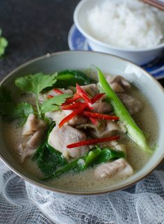 Chicken Cooked in Ginger