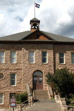 The Animas Museum in Durango, Colorado was a school building from 1904. Explore this charming local history museum. Western Saloon, Durango Colorado, School Building, Four Corners, Colorado Mountains, Winter House, Local History, History Museum, Old West