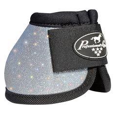 Silver Glitter Bell Boots
