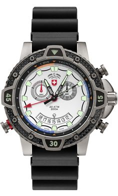 TYPHOON by Swiss Military™/CX Swiss Military Watch™; professional grade Swiss Made wrist watches on the official Swiss Military™ website. The authentic Swiss Military timepieces Scuba Watch, Tactical Watch, Watch Model, Luxury Watches For Men, Watch Brands, Cool Watches, Men's Watches, Fashion Watches, Quartz
