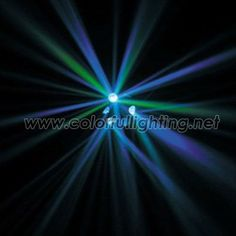 3*3W Tricolor LED Perfect Disco LightLaser- like beams Auto, Sound, DMX, Master/Slave 3 DMX Channels One years warranty
