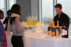 Bubbly Bar by Peter Callahan Catering