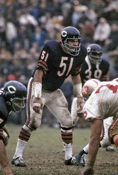 Dick Butkus    Middle linebacker Set the standard of toughness for all middle linebackers