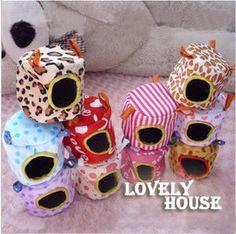 Chinchilla Hammocks Hanging Bed Toy House FREE P