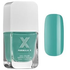 The Cut - Spring 2015 - Formula X   Sephora   COLOR High Frequency - bright turquoise