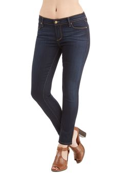 Solid Sense of Style Jeans in Dark Wash, #ModCloth