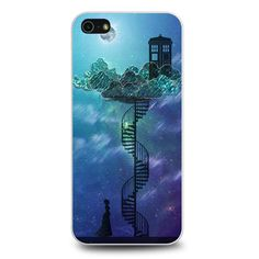 Tardis Victorian Sky Spiral Staircase Dr Who iPhone 5 | 5s | SE case