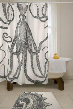 Calamari showers.