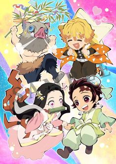 Demon Slayer Kimetsu No Yaiba fête Tanabata. Anime Chibi, Kawaii Anime, M Anime, Anime Demon, Anime Love, Anime Guys, Anime Art, Otaku Anime, Tanabata