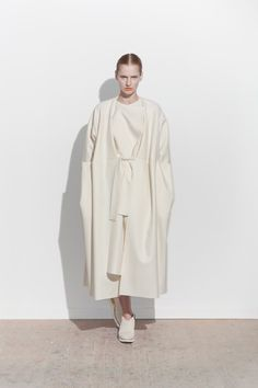 Chic White Tailoring - elegant contemporary fashion // Femme Maison