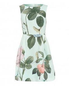 Ted Baker Mint Distinguished Rose 'Eleta' Dress