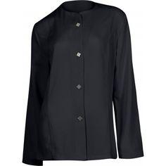 Casaca de mujer entallada, manga larga Referencia  B9550 Marca:  WorkTeam  Casaca de mujer entallada, manga larga, dos bolsillos, cierre central de corchetes.