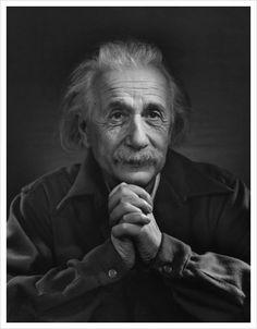 Albert Einstein by Karsh