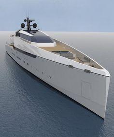 g180v ghost yacht, de voogt naval architects