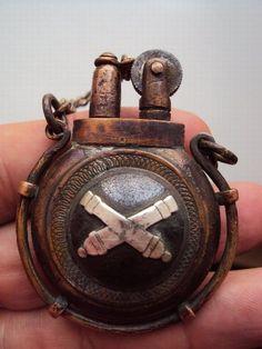 old antique vintage lighters