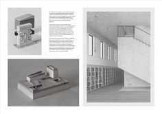Image 25 of 43 from gallery of 2015 RIBA President's Medals Winners Announced. RIBA Silver Medal: Finn Wilkie (Mackintosh School of Architecture). Image Courtesy of RIBA Architecture Portfolio Layout, Architecture Panel, Portfolio Web Design, Architecture Design, Portfolio Architect, Portfolio Examples, Portfolio Book, Landscape Architecture, Bartlett School Of Architecture