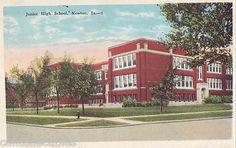 Junior High School Newton Iowa 1926 | eBay