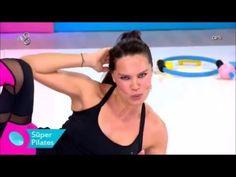 Ebru Şallı Yan Yağları Eritme ve Bel İnceltme Egzersizleri - Pilates - YouTube