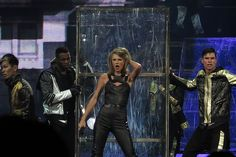 Taylor Swift performs at 1989 World Tour Concert