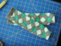 DIY leg warmers- found some great argyle knee socks at Dollar Tree and made 6 pairs of these!
