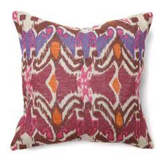 Villa Home Collection Boho Chic Ikat Decorative Pillows - Decorative Pillows at Hayneedle