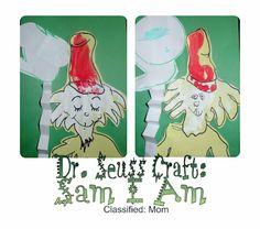 """""""Sam I Am"""" Dr. Seuss Kids Craft"""