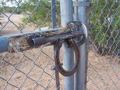 Gate latch for hay gate
