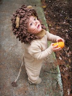 Lion Halloween Costume for Boys or Girls  #2014 #Halloween