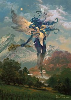 Official Post from Peter Mohrbacher: Become a patron to get         access to this post and other exclusive content.