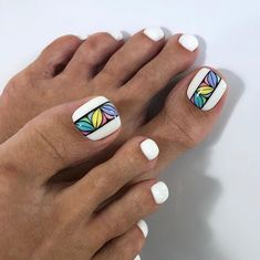What is a beautiful pedicure? the best design ideas for marigo Pedicure Nail Art, Pedicure Designs, Toe Nail Designs, Toe Nail Art, Nail Manicure, Nail Polish Art, Manicure Ideas, Diy Nails, Pretty Toe Nails