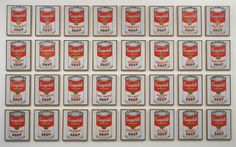 Andy Warhol Campbell's Soup Cans, 1962 Museo de Arte Moderno, New York