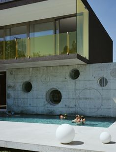 lacroix chessex, modern house, architecture,