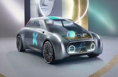 Built for ride sharing, the MINI Vision Next 100 Concept celebrates BMW's 100th anniversary