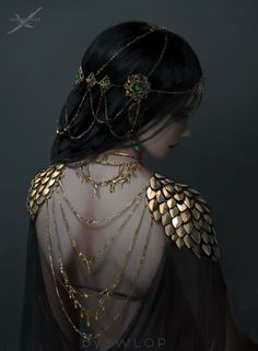 Post with 6462 votes and 236757 views. Tagged with art, fantasy, scifi; Shared by Afrigurian. Neat Fantasy/Sci-fi Art by WLOP Mode Inspiration, Character Inspiration, Character Art, Design Inspiration, Fantasy Dress, Fantasy Queen, Fantasy Princess, Medieval Princess, Dark Princess