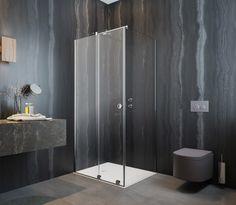 Prostokątna kabina prysznicowa Radaway Furo RH KDJ w wersji z okrągłym uchwytem. -------------- #radaway #dreambathroom #kabinyprysznicowe #prysznic #showercabin #kabina #Showers #kabinaprysznicowa #przebudowadomu #projektowaniewnetrz #projektowaniewnetrzkrakow #projektowaniewnetrzszczecin Shower Cabin, Cabins, Shower Enclosure, Cottages, Cabin, Sheds