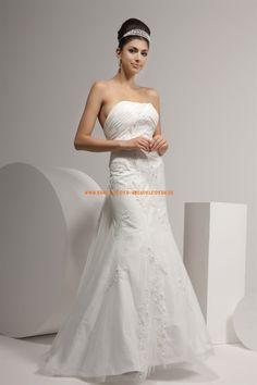 Wunderschöne Elegante Brautkleider 2013 aus Organza mit Applikation
