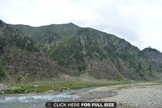 River Kunhar Near Jalkhand Naraan Valley Pakistan wallpaper