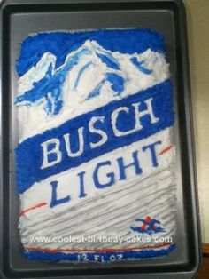 25 Best Busch light cakes images in 2014 | Light cakes