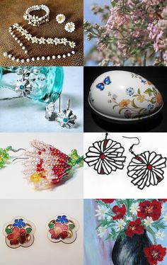 Welcome Spring by Ali on Etsy--Pinned with TreasuryPin.com