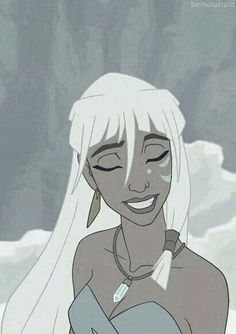 Kida is one of Disney& coolest princesses, and Atlantis was an awesome movie. I& still bitter that it tanked, even after all this time ; Disney Pixar, Disney Animation, Manga Disney, Kida Disney, Walt Disney, Princesas Disney, Disney Girls, Disney And Dreamworks, Animation Film