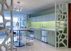 corporate kitchen, designed by Cannon Design