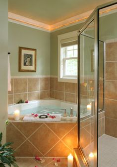 Lookout Point Inn, a Hot Springs, Arkansas Bed and Breakfast. Can you imagine having this in your bathroom?