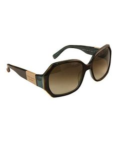 Take a look at this Turquoise Tortoise Sunglasses - Women by Kate Spade on #zulily today!