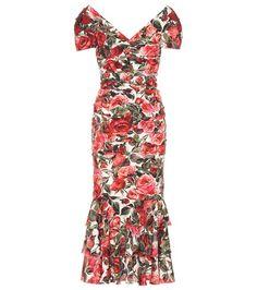 Buy it now. Printed silk-blend dress. Multicoloured printed silk-blend dress by Dolce & Gabbana , vestidoinformal, casual, camiseta, playeros, informales, túnica, estilocamiseta, camisola, vestidodealgodón, vestidosdealgodón, verano, informal, playa, playero, capa, capas, vestidobabydoll, camisole, túnica, shift, pleat, pleated, drape, t-shape, daisy, foldedshoulder, summer, loosefit, tunictop, swing, day, offtheshoulder, smock, print, printed, tea, babydolldress, dolldress, tunic, polodr...
